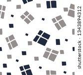 seamless white vector pattern... | Shutterstock .eps vector #1343894312