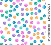 colorful pattern with different ...   Shutterstock .eps vector #1343904275