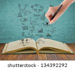 Magic Book With Business...