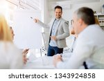 business people in office | Shutterstock . vector #1343924858
