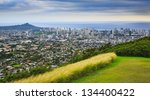 View Of Diamond Head And The...