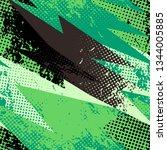 grunge geometric pattern for... | Shutterstock .eps vector #1344005885