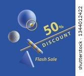 discount announcement web...   Shutterstock .eps vector #1344012422