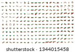 very big collection of vector... | Shutterstock .eps vector #1344015458