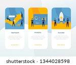 business app onboarding screen...