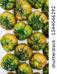 green tomatoes in market street ...
