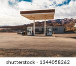 Old Gas Station In Death Valley