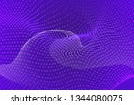 beautiful purple abstract... | Shutterstock . vector #1344080075
