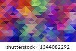 geometric design. colorful...   Shutterstock .eps vector #1344082292
