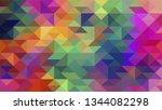 geometric design. colorful...   Shutterstock .eps vector #1344082298