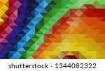 geometric design. colorful...   Shutterstock .eps vector #1344082322