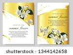 set of vector banners with... | Shutterstock .eps vector #1344142658