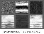 painted patterns. seamless... | Shutterstock .eps vector #1344142712