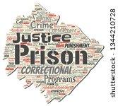 vector conceptual prison ... | Shutterstock .eps vector #1344210728