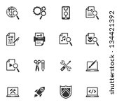 seo   internet marketing icons  ...