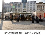 leipzig  germany   march 15 ... | Shutterstock . vector #134421425
