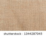 burlap background and texture   Shutterstock . vector #1344287045