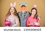 Egg Hunt. Family And Sisterhoo...
