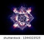 quantum computer system.... | Shutterstock . vector #1344323525