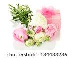 ranunculus  persian buttercups  ... | Shutterstock . vector #134433236