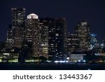 horizontal image of downtown... | Shutterstock . vector #13443367