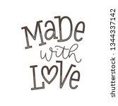 vector illustration of made... | Shutterstock .eps vector #1344337142