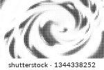 halftone gradient pattern.... | Shutterstock .eps vector #1344338252