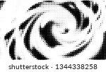 halftone gradient pattern.... | Shutterstock .eps vector #1344338258