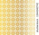 gold white circle medallion...   Shutterstock .eps vector #1344340742