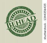 green behead distressed grunge... | Shutterstock .eps vector #1344356435