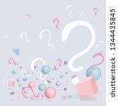 3d figures realistic vector...   Shutterstock .eps vector #1344435845