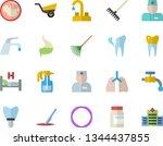 color flat icon set faucet flat ...   Shutterstock .eps vector #1344437855
