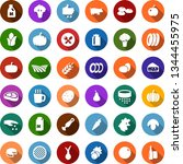 color back flat icon set  ... | Shutterstock .eps vector #1344455975