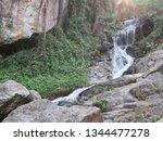 huay keaw waterfall   Shutterstock . vector #1344477278