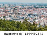 panoramic view of budapest in... | Shutterstock . vector #1344492542