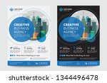 corporate business flyer poster ... | Shutterstock .eps vector #1344496478