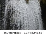 isolated waterfall in tropics | Shutterstock . vector #1344524858