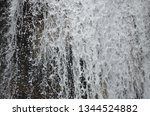 isolated waterfall in tropics | Shutterstock . vector #1344524882