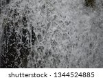 isolated waterfall in tropics | Shutterstock . vector #1344524885