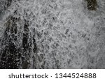 isolated waterfall in tropics | Shutterstock . vector #1344524888