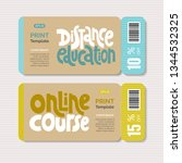 promotional coupon vector... | Shutterstock .eps vector #1344532325