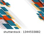 abstract background design with ... | Shutterstock .eps vector #1344533882