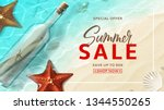 promo web banner for summer... | Shutterstock .eps vector #1344550265