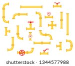 spare parts for the pipeline.... | Shutterstock .eps vector #1344577988