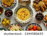traditional turkish ramadan... | Shutterstock . vector #1344580655