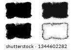set of brush stroke and... | Shutterstock . vector #1344602282