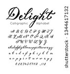 vector elegant font and... | Shutterstock .eps vector #1344617132