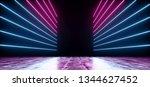 neon futuristic background... | Shutterstock . vector #1344627452