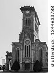gothic revival style tower... | Shutterstock . vector #1344633788