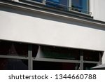 copy space on shop facade ... | Shutterstock . vector #1344660788